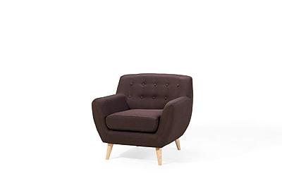 Corrigan Studio Poppy Armchair; Chocolate