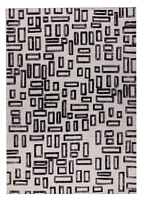M.A. Trading Fermont Hand-Woven Gray Area Rug; 5' x 8'