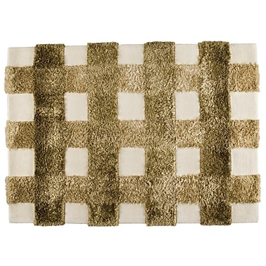 M.A. Trading Kent Hand-Tufted Khaki Area Rug; 6'6'' x 9'9''
