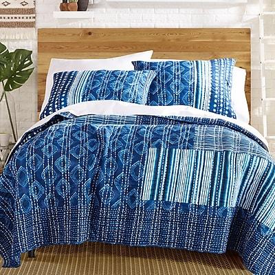 Makers Collective Avisa 100pct Cotton Reversible Quilt Set; King