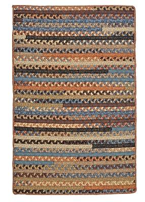 August Grove Surette Soft Black Rug; Rectangle 3' x 5'