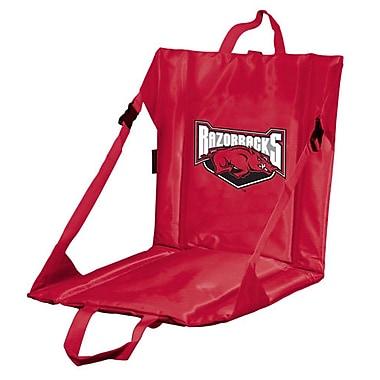 Logo Brands Collegiate Stadium Seat - Arkansas