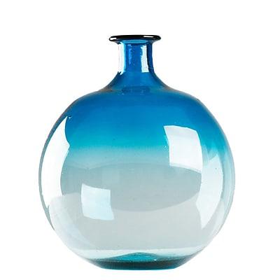 Zentique Inc. Zeus Table Vase; Blue