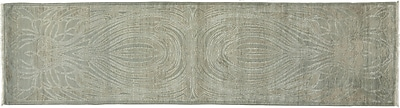 Darya Rugs One-of-a-Kind Shalimar Hand-Knotted Gray Area Rug