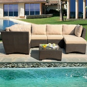 W Unlimited Garden Patio Deep Seating Group w/ Cushions