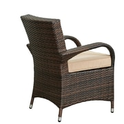 W Unlimited Bora Garden 8 Piece Wicker Deep Seating Group w/ Cushions