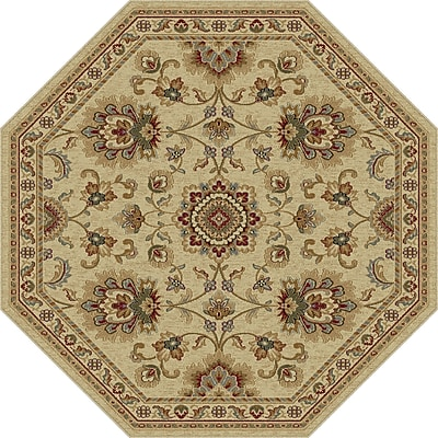 Astoria Grand Clarence Ivory Area Rug; Rectangle 7'10'' x 10'3''