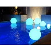Major-Q Cordless Decorative 1 Light LED Poolside and Floating Light; Ball 12''