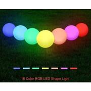 Major-Q Cordless Decorative 1 Light LED Poolside and Floating Light; Ball 16''