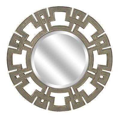 Mercer41 Dean Decorative CKI Round Wall Mirror