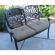 Darby Home Co Kristy Aluminum Garden Bench