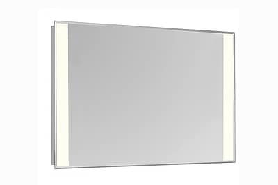 Latitude Run LED Edge Electric Wall Mirror;