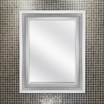 MCSIndustries Weathered Accent Wall Mirror; 30.5'' H