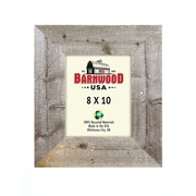 BarnwoodUSA Rustic Wooden Picture Frame; 8'' x 10''