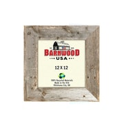 BarnwoodUSA Rustic Wooden Picture Frame; 12'' x 12''