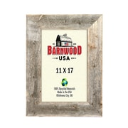 BarnwoodUSA Rustic Wooden Picture Frame; 11'' x 17''