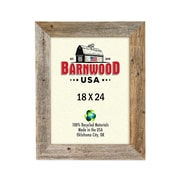 BarnwoodUSA Rustic Wooden Picture Frame; 18'' x 24''