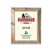 BarnwoodUSA Rustic Wooden Picture Frame; 22'' x 28''