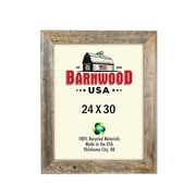 BarnwoodUSA Rustic Wooden Picture Frame; 24'' x 30''