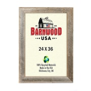 BarnwoodUSA Rustic Wooden Picture Frame; 24 x 36''