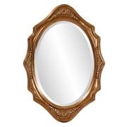 Astoria Grand Gold Wooden Frame Mirror