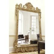 Astoria Grand Rectangle Antique Silver Wall Mirror