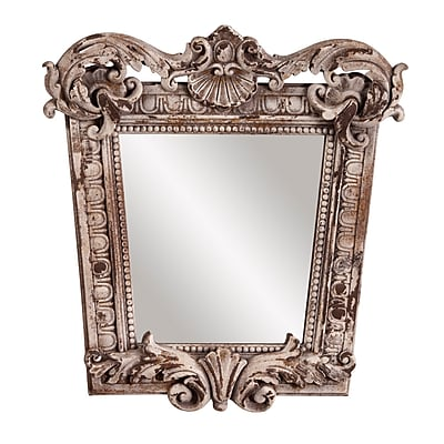 Ophelia & Co. Rustic Stone Resin Mirror