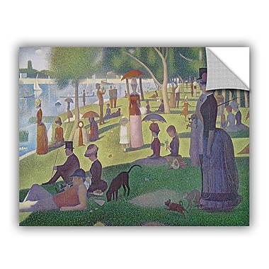 ArtWall ArtApeelz 'La Grande Jatte' by Georges Seurat Painting Print Removable Wall Decal
