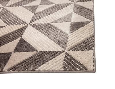 Brayden Studio Teegarden Charcoal Area Rug; 5' x 8'