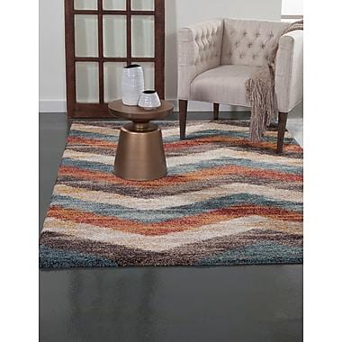 Brayden Studio Teasley Multi-Color Area Rug; 5'3'' x 7'6''