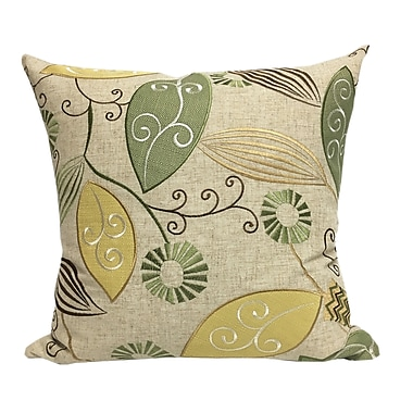 August Grove Olevia Embroidered Throw Pillow