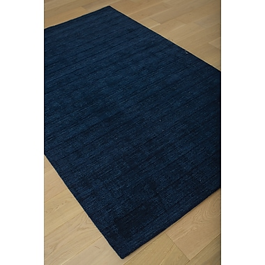 Red Barrel Studio Loring Hand-Tufted Blue Area Rug; 8' x 10'