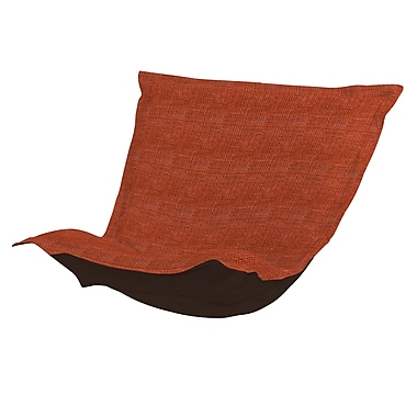 Red Barrel Studio Azaria Coco Chair Cushion; Coral