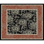Charlton Home Pearce Taupe Indoor/Outdoor Area Rug; Square 7'3''