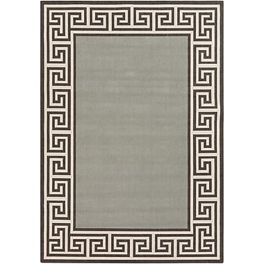 Charlton Home Pearce Moss/Green Indoor/Outdoor Area Rug; Rectangle 2'3'' x 4'6''