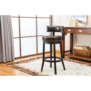 Darby Home Co Backer 29'' Bar Stool (Set of 2); Brown