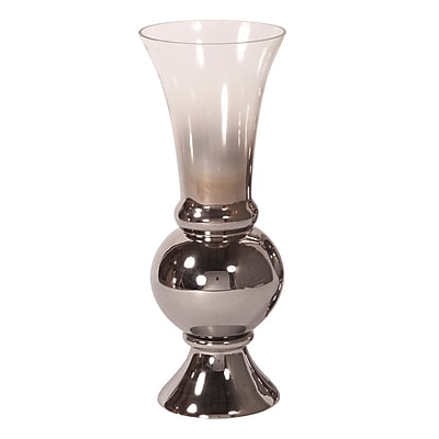 Darby Home Co Hand Blown Glass Fluted Vase; Small