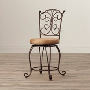 Fleur De Lis Living Alcrossagh 24'' Swivel Bar Stool