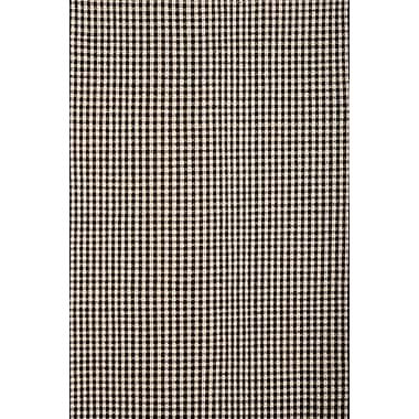 Gracie Oaks Hempstead Black/Beige Rug; 8' x 10'