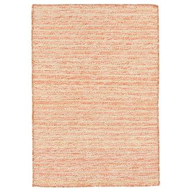 Highland Dunes Blueridge Hand-Woven Orange Indoor/Outdoor Area Rug; 5' x 7'6''