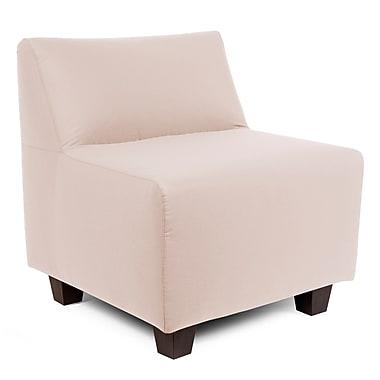 Latitude Run Cunningham Slipper Chair; Seascape Sand