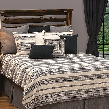 Loon Peak Graves Reversible Duvet Set; Full