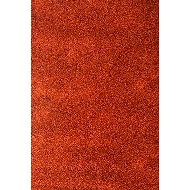 Red Barrel Studio Lionel Rust Area Rug; 5'3'' x 7'6''