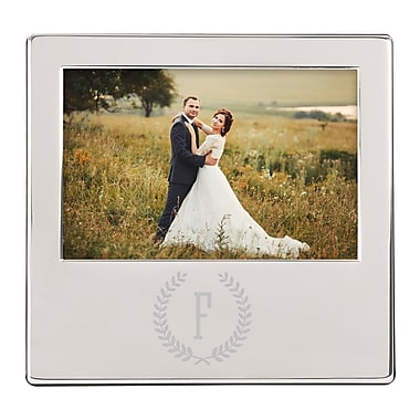 Alcott Hill Crest Picture Frame; F