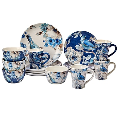 Darby Home Co Gammon 16 Piece Dinnerware Set, Service for 4