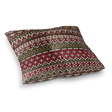 Darby Home Co Mollien Floor Pillow; 23'' H x 23'' W x 9.5'' D