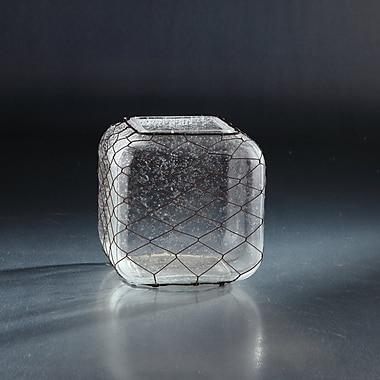 Diamond Star Glass Table Vase