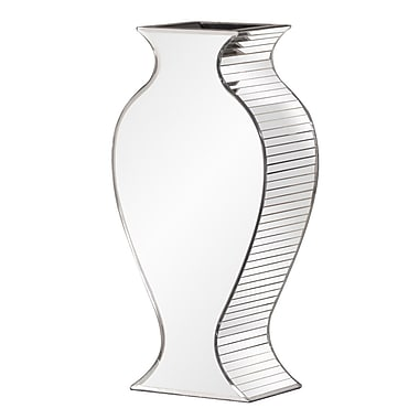 Rosdorf Park Rounded Mirrored Vase; Small