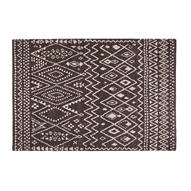Union Rustic Devin Chocolate/Ivory Area Rug; 5'3'' x 7'6''