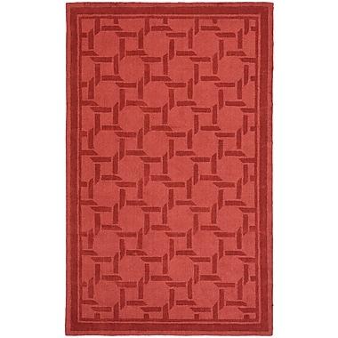 Martha Stewart Rugs Resort Hand-Loomed Sealing Wax Area Rug; Rectangle 8' x 10'